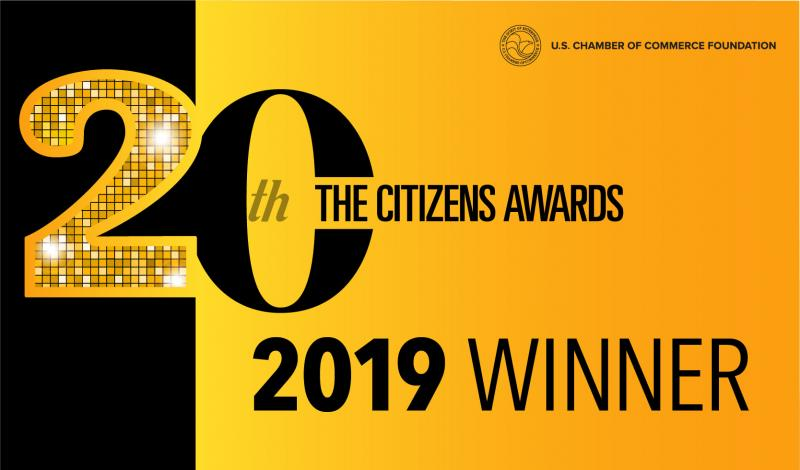 Citizens Awards Winner Graphic