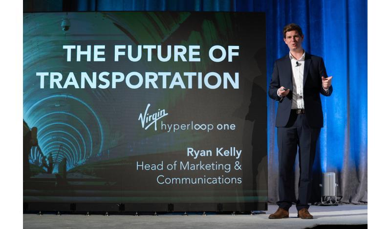 Ryan Kelly Head of Marketing, Virgin Hyperloop One
