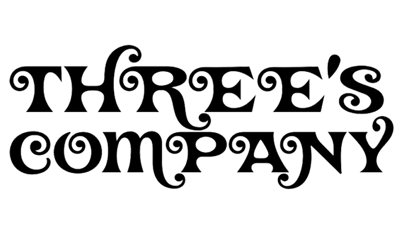 Three's Company Logo