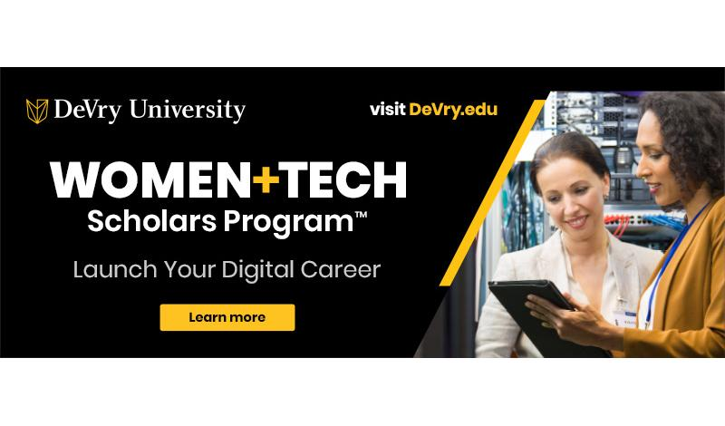 DeVry Women in Tech Image
