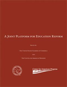 Joint Platform for Ed Reform Cover Image