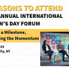 5 Reasons to Attend IWD