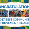 Citizens 2017 community improvement finalists graphic
