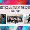 2018 best commitment to education finalists