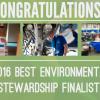 best environmental stewardship finalists