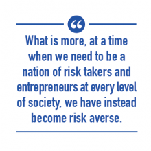 Opportunity Project - We Need to be a Nation of Risk Takers
