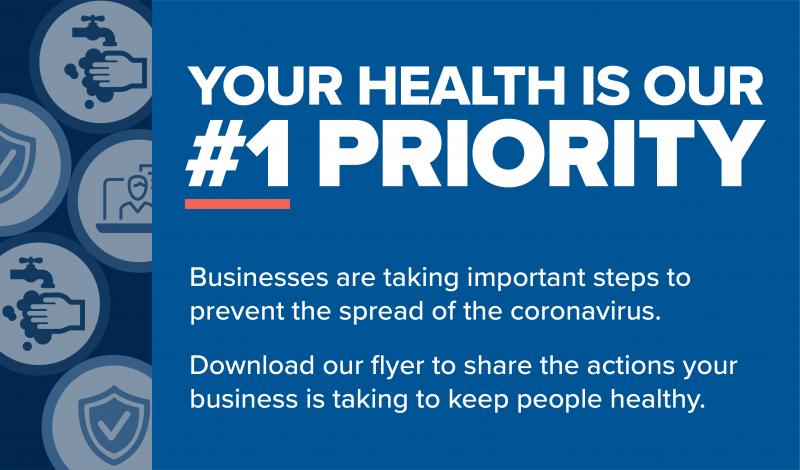Coronavirus Business Flyer