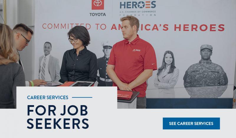 Career Services for Job Seekers slide