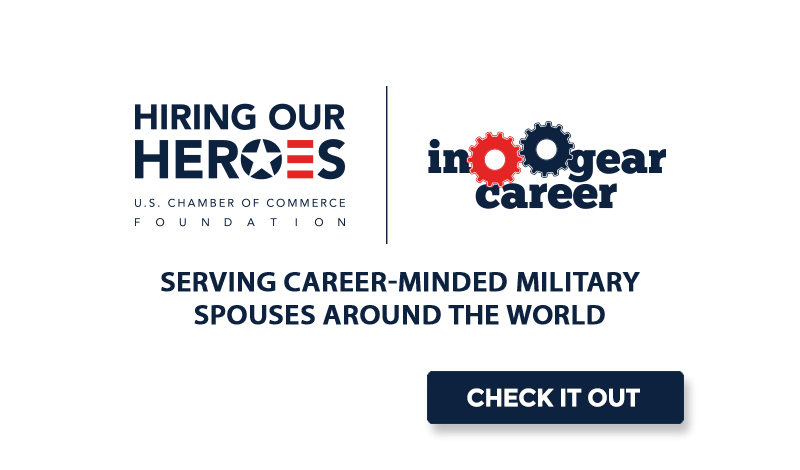 In Gear Career: Serving Career-Minded Military Spouses Around the World