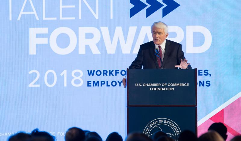 Thomas J. Donohue at Talent Forward 2018