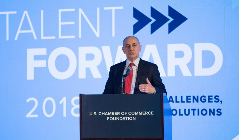 Chris Liddell at Talent Forward 2018