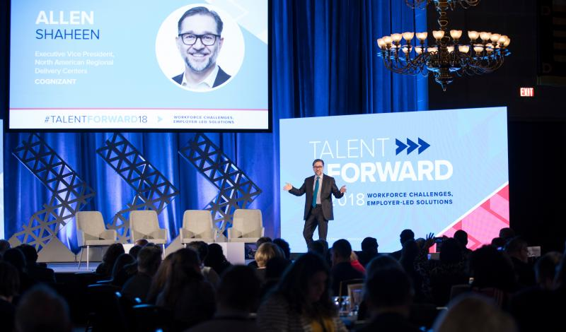 Allen Shaheen at Talent Forward 2018