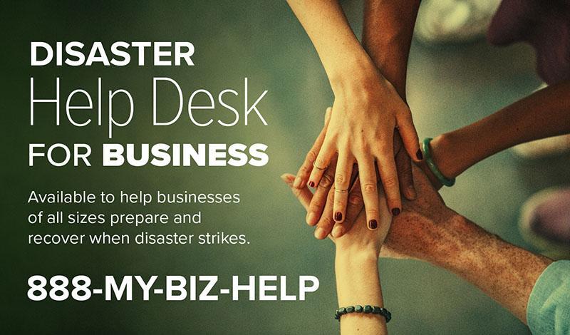 Disaster Help Desk