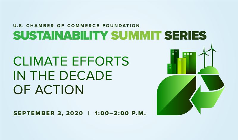 Sustainability Summit Series: Climate Efforts in the Decade of Action