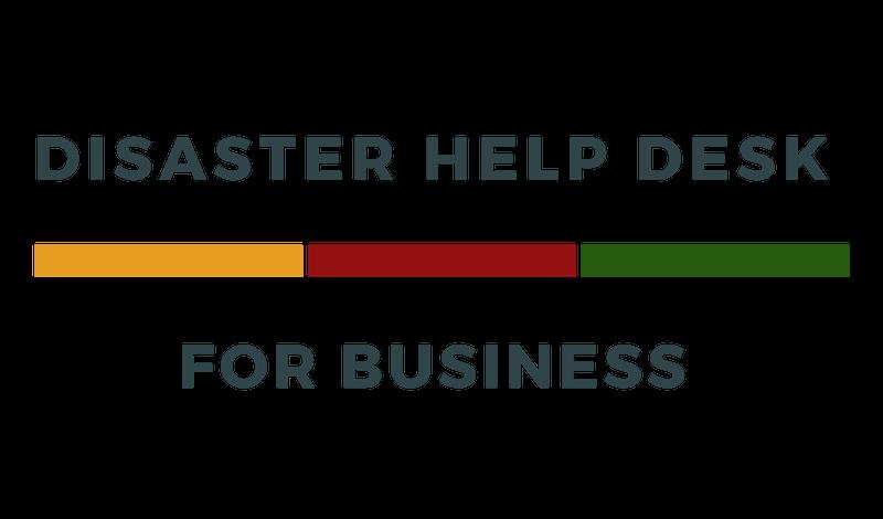 Disaster Help Desk for Business