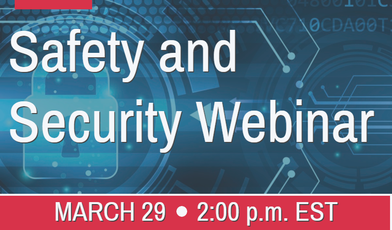 Safety and Security Webinar