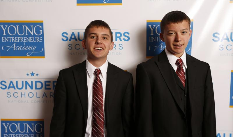 Tanner and Spencer Harrison