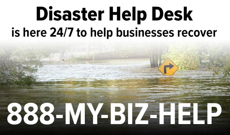 Disaster Help Desk for Business