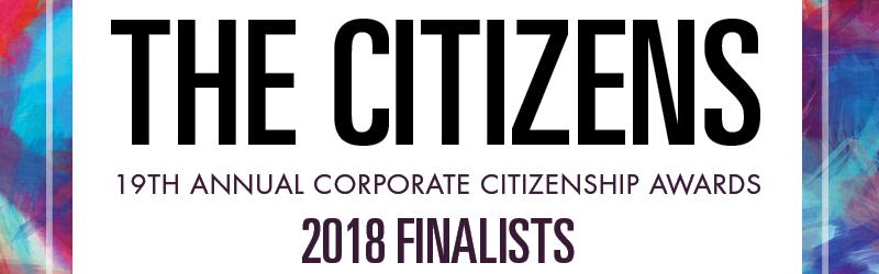 2018 Citizens Awards Finalists