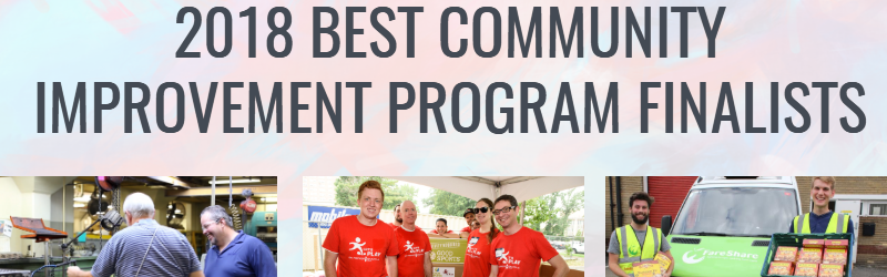 2018 community improvement finalists