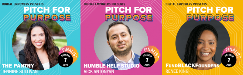 Pitch for Purpose finalists