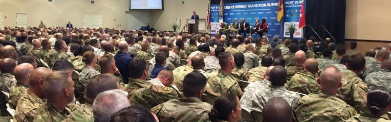Transition Summit Fort Bliss 2016