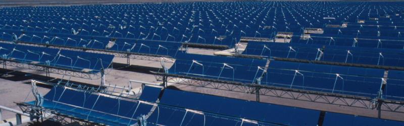 Solar panels, data and new energy