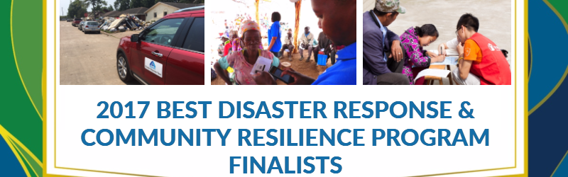 Disaster citizens finalists