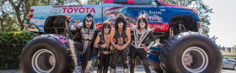 KISS and Hiring Our Heroes