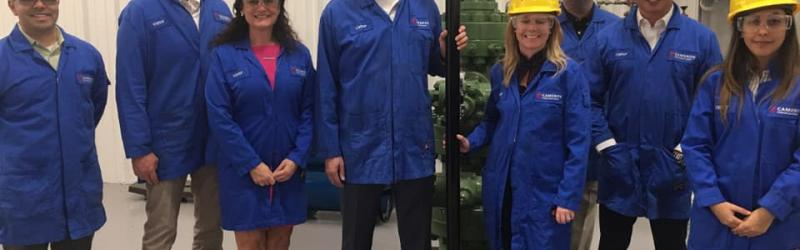 Hiring Our Heroes Makes a Trip to Schlumberger Houston