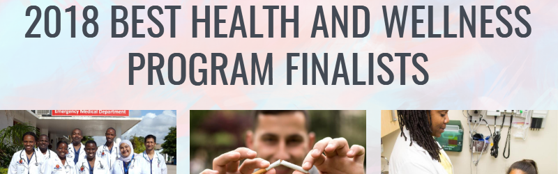 2018 Health and Wellness Finalists