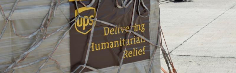 UPS disaster response